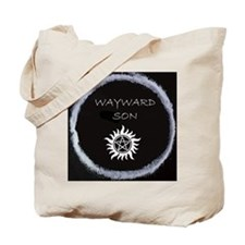 """Supernatural """"Wayward Son"""" logo Tote Bag"""