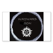 "Supernatural ""Wayward Son"" logo Decal"