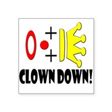Clowns Go Down! Sticker