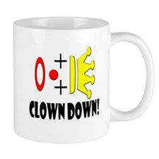 Clowns Go Down! Mug
