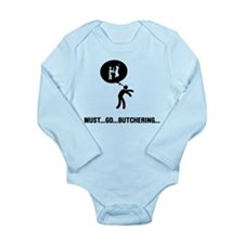 Butcher Long Sleeve Infant Bodysuit