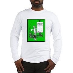 Tin Man (Copyright Page) Long Sleeve T-Shirt