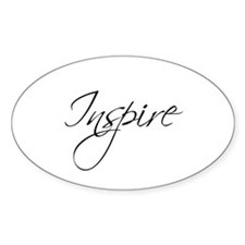 INSPIRE -Oval Decal