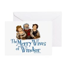 The Merry Wives of Windsor Greeting Cards (Package