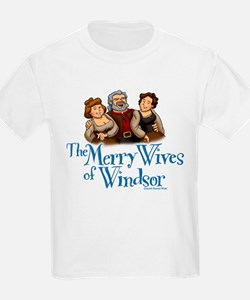 The Merry Wives of Windsor Kids T-Shirt