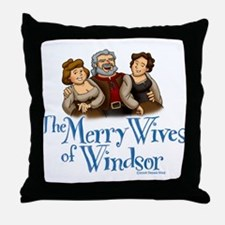 The Merry Wives of Windsor Throw Pillow