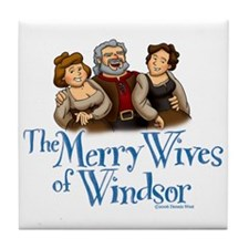 The Merry Wives of Windsor Tile Coaster