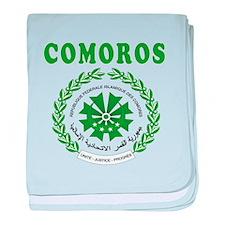 Comoros Coat Of Arms Designs baby blanket