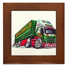 Koolart's Eddie STobart Truck Caricature Framed Ti