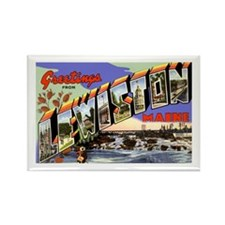 Lewiston Maine Greetings Rectangle Magnet