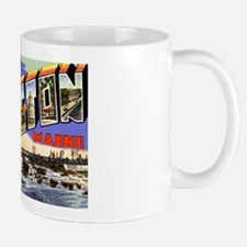 Lewiston Maine Greetings Mug