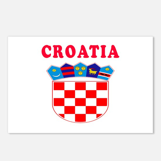 Croatia Coat Of Arms Designs Postcards (Package of