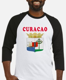 Curacao Coat Of Arms Designs Baseball Jersey
