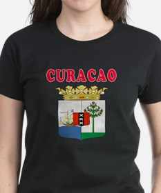 Curacao Coat Of Arms Designs Tee
