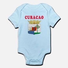 Curacao Coat Of Arms Designs Infant Bodysuit