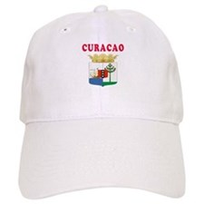 Curacao Coat Of Arms Designs Baseball Cap