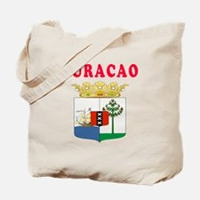 Curacao Coat Of Arms Designs Tote Bag