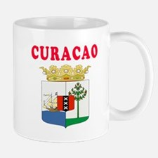 Curacao Coat Of Arms Designs Mug