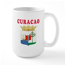 Curacao Coat Of Arms Designs Mug