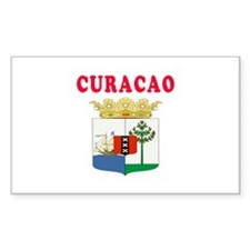 Curacao Coat Of Arms Designs Decal