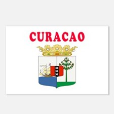 Curacao Coat Of Arms Designs Postcards (Package of