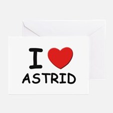 I love Astrid Greeting Cards (Pk of 10)