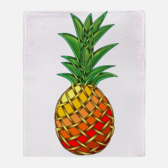 Pineapple Throw Blanket