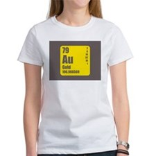 Periodic Table Of Element's Au GOLD T-Shirt
