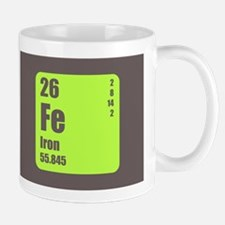 Periodic Table Of Element's Fe Iron Mug