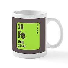 Periodic Table Of Element's Fe Iron Mug