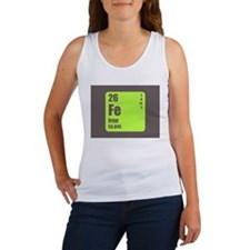 Periodic Table Of Element's Fe Iron Tank Top