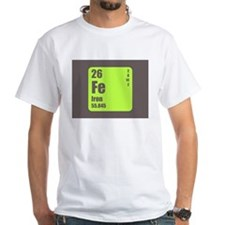 Periodic Table Of Element's Fe Iron T-Shirt