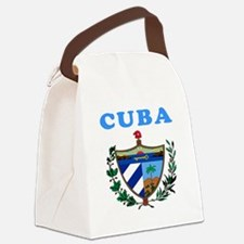Cuba Coat Of Arms Designs Canvas Lunch Bag
