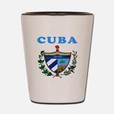 Cuba Coat Of Arms Designs Shot Glass