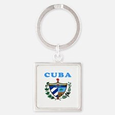 Cuba Coat Of Arms Designs Square Keychain