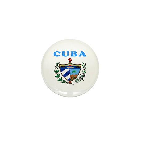 Cuba Coat Of Arms Designs Mini Button (10 pack)