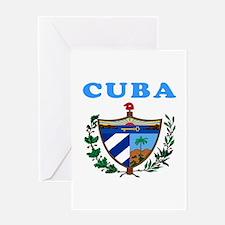 Cuba Coat Of Arms Designs Greeting Card