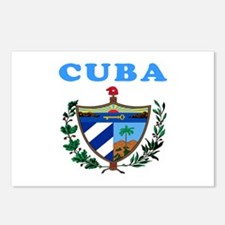Cuba Coat Of Arms Designs Postcards (Package of 8)