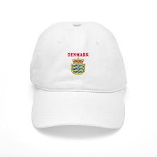 Denmark Coat Of Arms Designs Baseball Baseball Cap