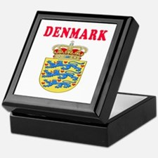 Denmark Coat Of Arms Designs Keepsake Box