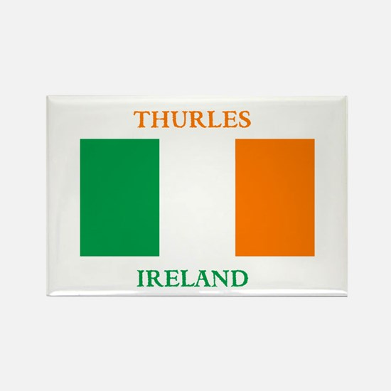 Thurles Ireland Rectangle Magnet