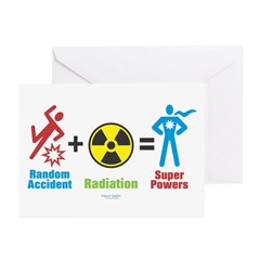 Super Powers Greeting Cards (Pk of 10)