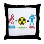 Super Powers Throw Pillow