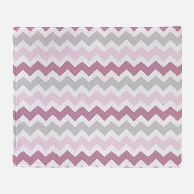 light pink chevron throw blankets light pink chevron fleece blankets stadium blankets cafepress. Black Bedroom Furniture Sets. Home Design Ideas