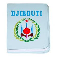 Djibouti Coat Of Arms Designs baby blanket