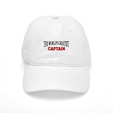 """""""The World's Greatest Baseball Captain"""" Baseball Cap"""