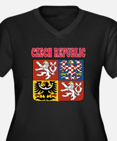 Czech Republic Coat Of Arms Designs Women's Plus S