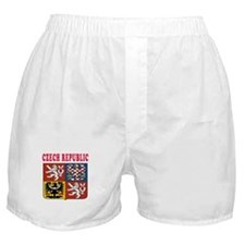 Czech Republic Coat Of Arms Designs Boxer Shorts