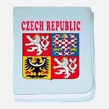 Czech Republic Coat Of Arms Designs baby blanket