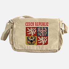 Czech Republic Coat Of Arms Designs Messenger Bag